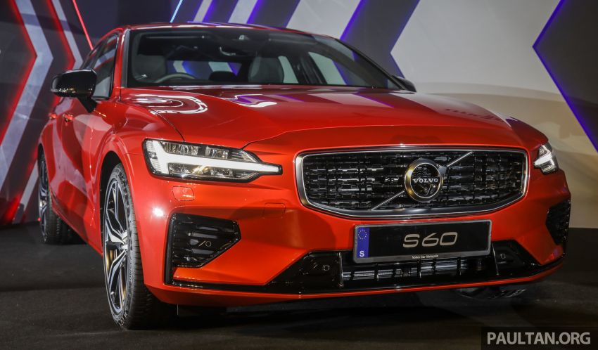 2019 Volvo S60 T8 R-Design launched in Malaysia – 2.0L PHEV, 407 hp, 640 Nm, 0-100 km/h in 4.4s, RM296k Image #1035214