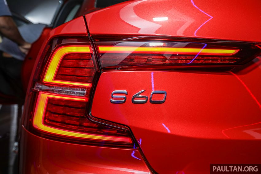 2019 Volvo S60 T8 R-Design launched in Malaysia – 2.0L PHEV, 407 hp, 640 Nm, 0-100 km/h in 4.4s, RM296k Image #1035236