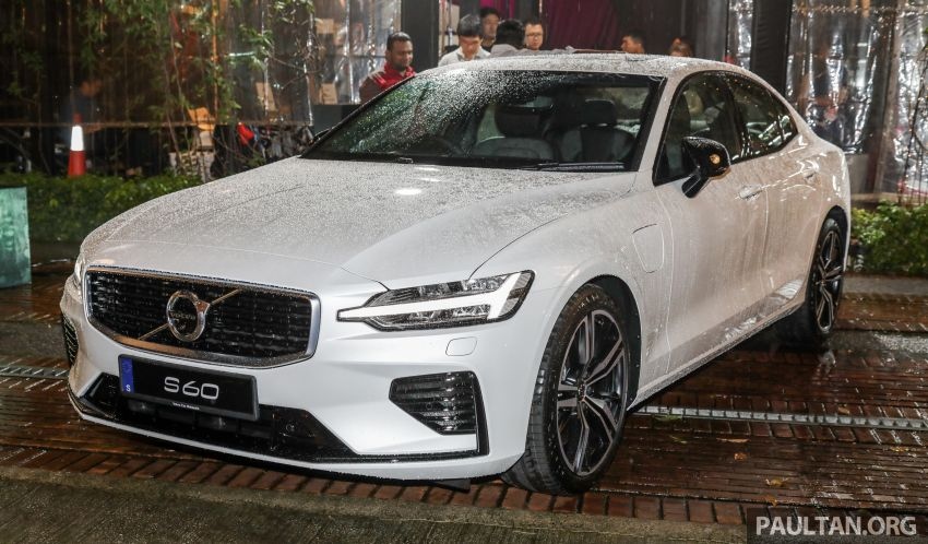 2019 Volvo S60 T8 R-Design launched in Malaysia – 2.0L PHEV, 407 hp, 640 Nm, 0-100 km/h in 4.4s, RM296k Image #1035242