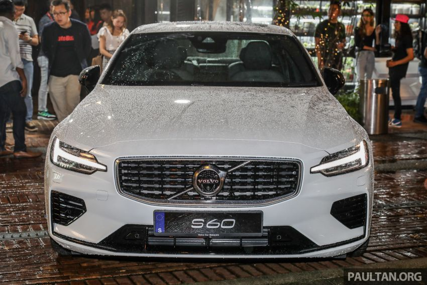 2019 Volvo S60 T8 R-Design launched in Malaysia – 2.0L PHEV, 407 hp, 640 Nm, 0-100 km/h in 4.4s, RM296k Image #1035244