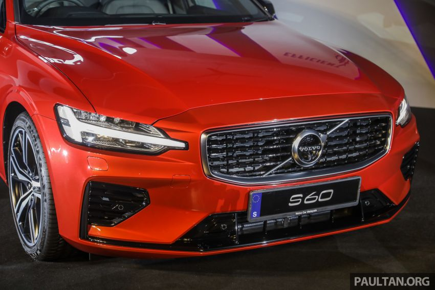 2019 Volvo S60 T8 R-Design launched in Malaysia – 2.0L PHEV, 407 hp, 640 Nm, 0-100 km/h in 4.4s, RM296k Image #1035217