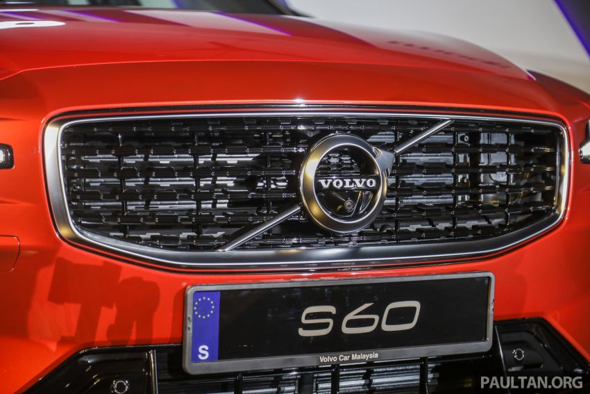 2019 Volvo S60 T8 R-Design launched in Malaysia – 2.0L PHEV, 407 hp, 640 Nm, 0-100 km/h in 4.4s, RM296k Image #1035221