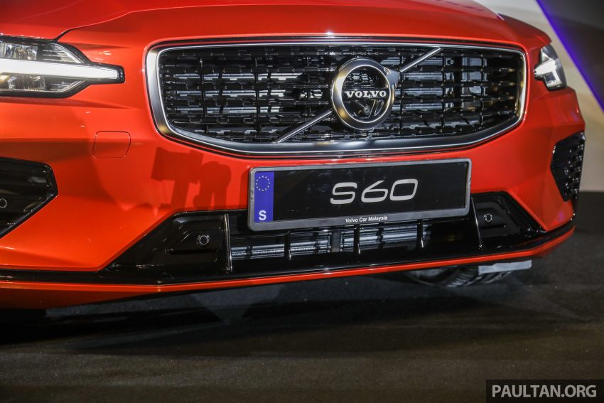 2019 Volvo S60 T8 R-Design launched in Malaysia – 2.0L PHEV, 407 hp, 640 Nm, 0-100 km/h in 4.4s, RM296k Image #1035222