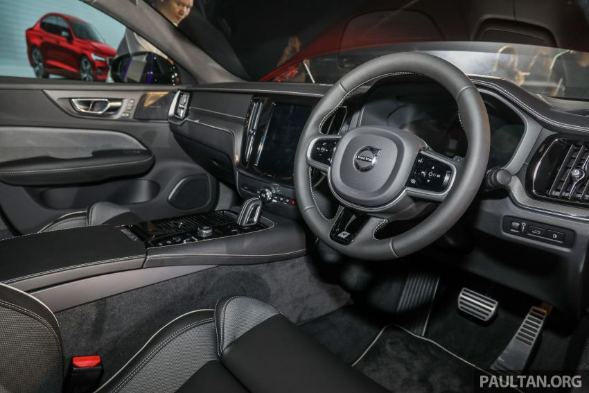 2019 Volvo S60 T8 R-Design launched in Malaysia – 2.0L PHEV, 407 hp, 640 Nm, 0-100 km/h in 4.4s, RM296k Image #1035248