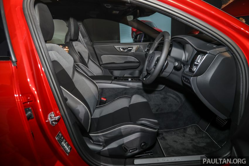 2019 Volvo S60 T8 R-Design launched in Malaysia – 2.0L PHEV, 407 hp, 640 Nm, 0-100 km/h in 4.4s, RM296k Image #1035265