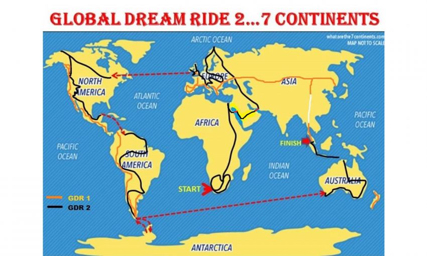 Malaysian lady rider Anita Yusof sets off on second Global Dream Ride – 7 continents, 70 countries Image #1028105