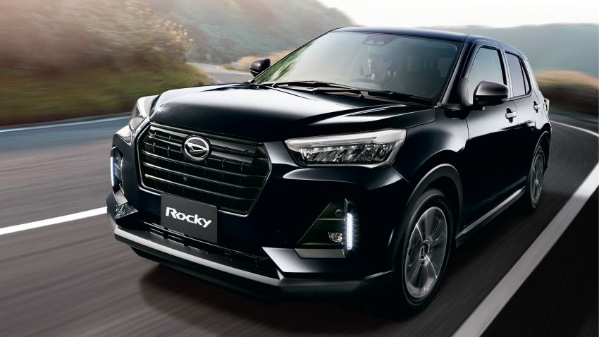 Daihatsu Rocky now on sale in Japan, priced fr RM59k Image #1042292