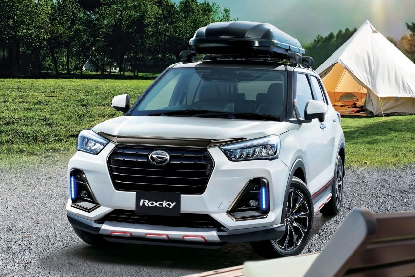 Daihatsu Rocky – official range of accessories out Image #1042608