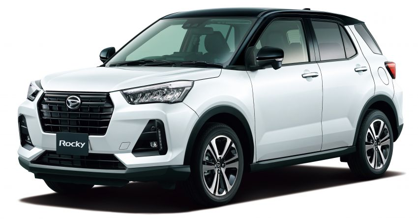 Daihatsu Rocky now on sale in Japan, priced fr RM59k Image #1042174