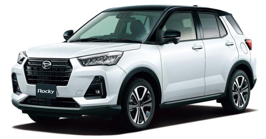 Daihatsu Rocky now on sale in Japan, priced fr RM59k Image #1042174