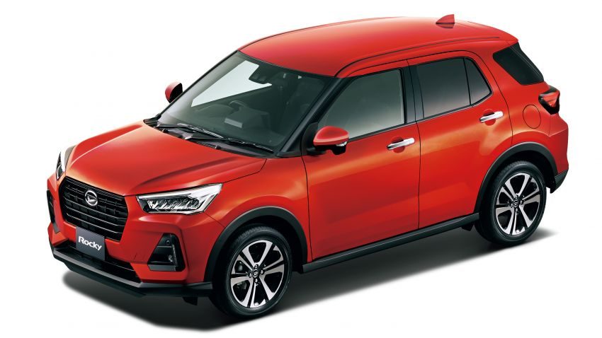 Daihatsu Rocky now on sale in Japan, priced fr RM59k Image #1042178