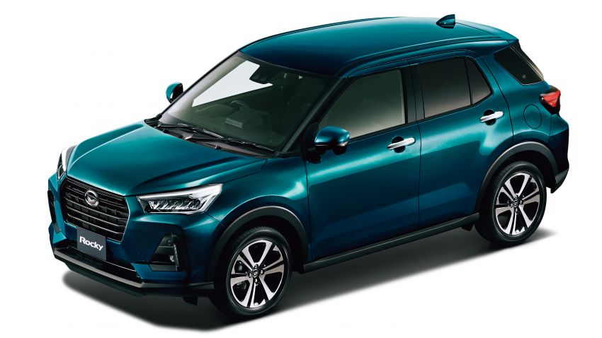 Daihatsu Rocky now on sale in Japan, priced fr RM59k Image #1042179