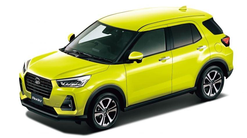 Daihatsu Rocky now on sale in Japan, priced fr RM59k Image #1042181