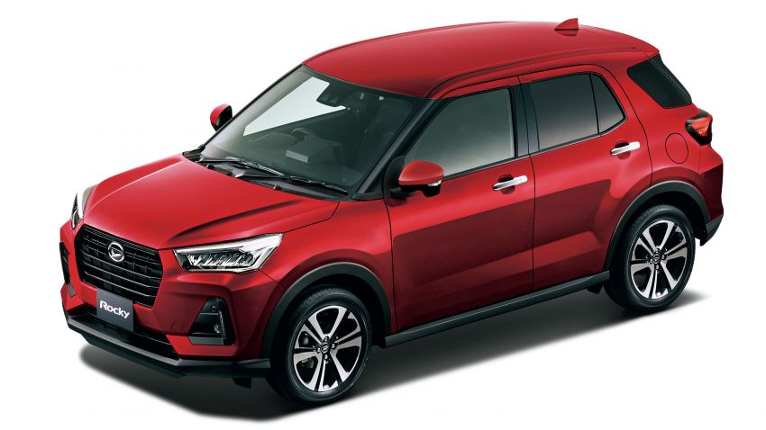 Daihatsu Rocky now on sale in Japan, priced fr RM59k Image #1042182