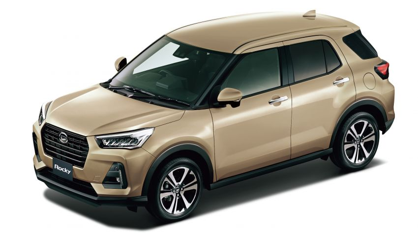Daihatsu Rocky now on sale in Japan, priced fr RM59k Image #1042183
