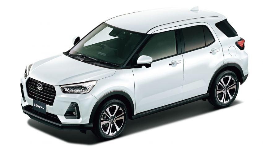 Daihatsu Rocky now on sale in Japan, priced fr RM59k Image #1042184