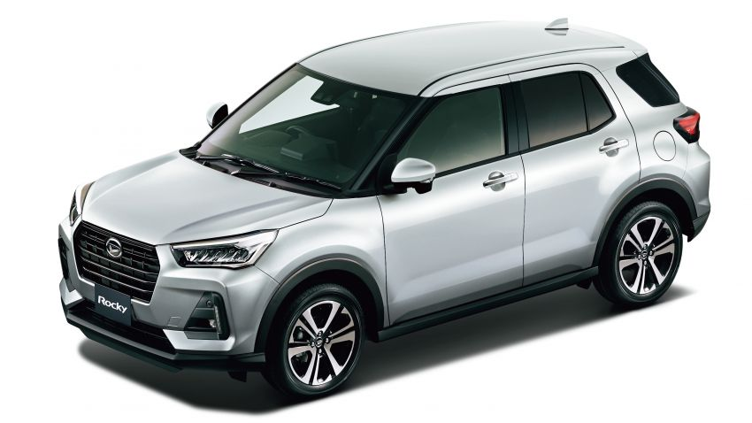 Daihatsu Rocky now on sale in Japan, priced fr RM59k Image #1042185