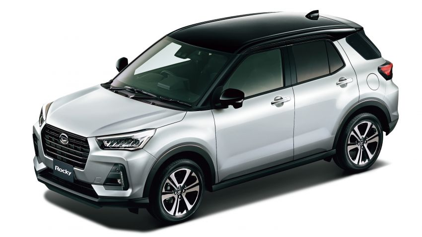 Daihatsu Rocky now on sale in Japan, priced fr RM59k Image #1042189