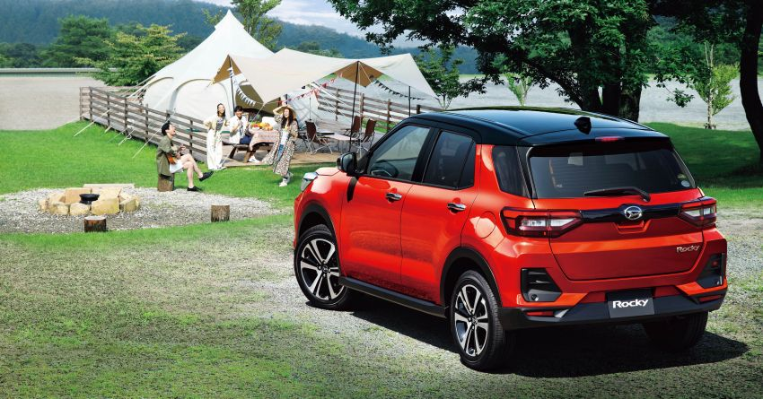 Daihatsu Rocky now on sale in Japan, priced fr RM59k Image #1042217
