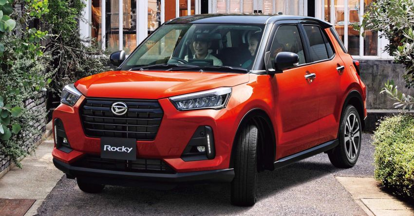 Daihatsu Rocky now on sale in Japan, priced fr RM59k Image #1042232