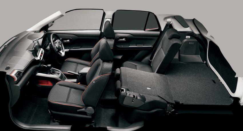 Daihatsu Rocky now on sale in Japan, priced fr RM59k Image #1042233