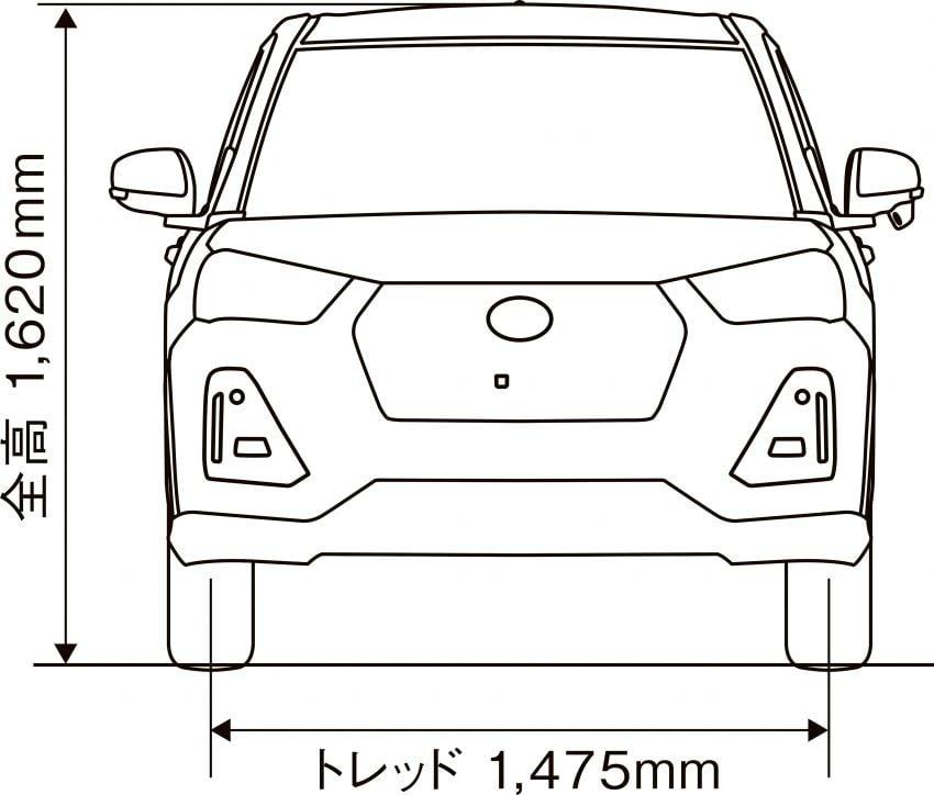 Daihatsu Rocky now on sale in Japan, priced fr RM59k Image #1042274