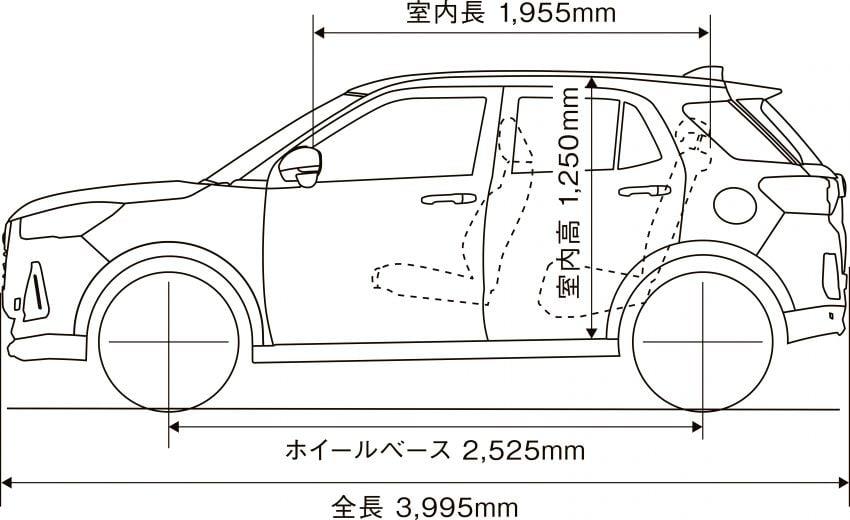 Daihatsu Rocky now on sale in Japan, priced fr RM59k Image #1042277