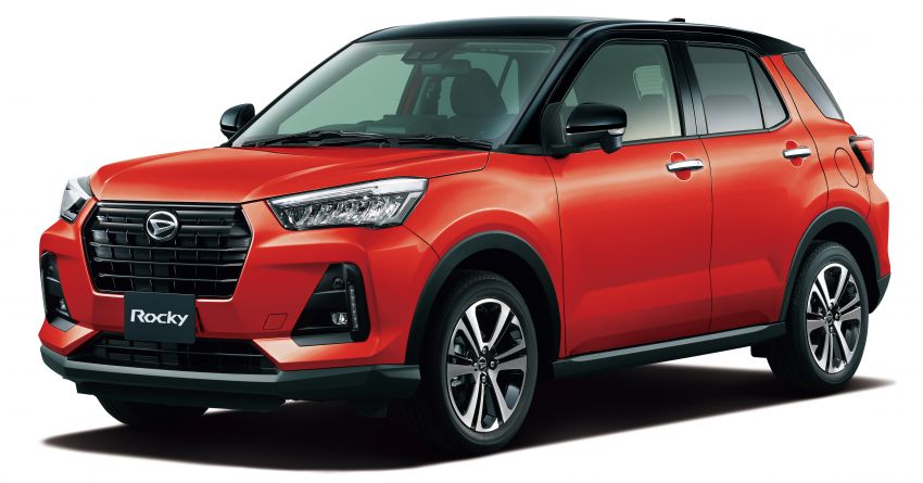 Daihatsu Rocky now on sale in Japan, priced fr RM59k Image #1042172