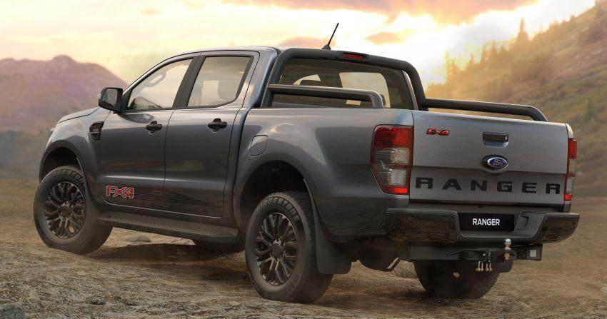 Ford Ranger T6 2020 diperkenalkan di Thailand – model FX4 baru, Wildtrak dan Raptor kini dengan AEB Image #1047982