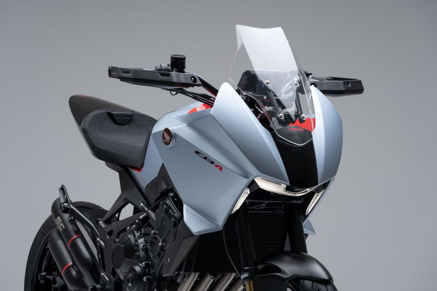 EICMA 2019: Honda shows CB4X Concept sports bike Image #1042494