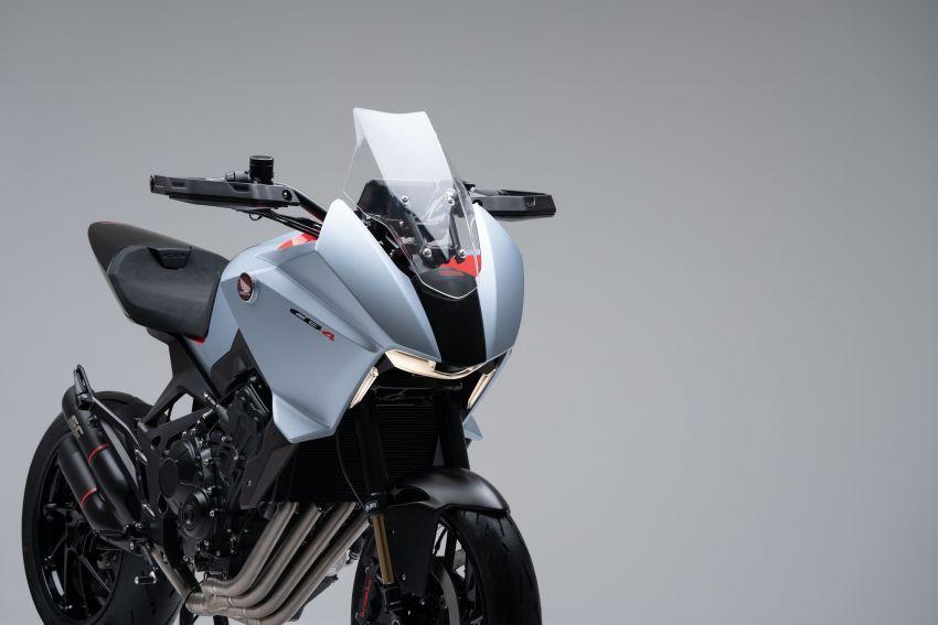 EICMA 2019: Honda shows CB4X Concept sports bike Image #1042506