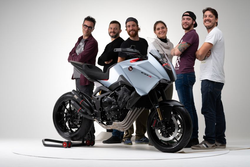 EICMA 2019: Honda shows CB4X Concept sports bike Image #1042511