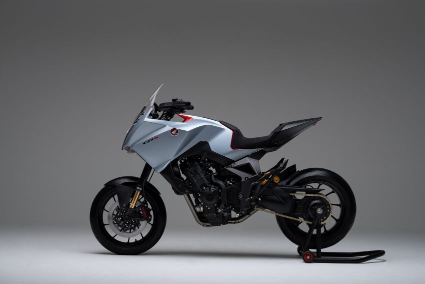 EICMA 2019: Honda shows CB4X Concept sports bike Image #1042497