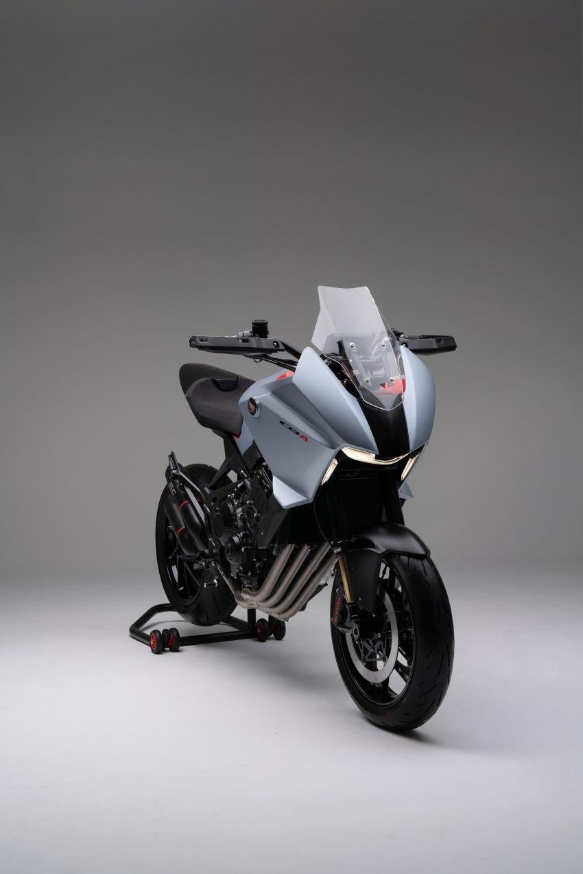 EICMA 2019: Honda shows CB4X Concept sports bike Image #1042499