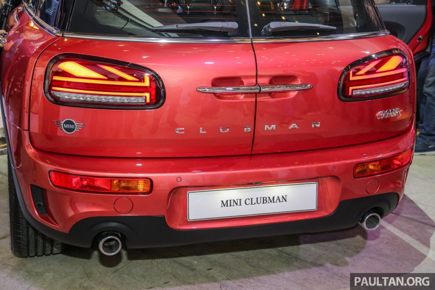 F54 MINI Clubman facelift launched in Malaysia – Cooper S with 192 hp, 280 Nm; priced from RM299k Image #1042428