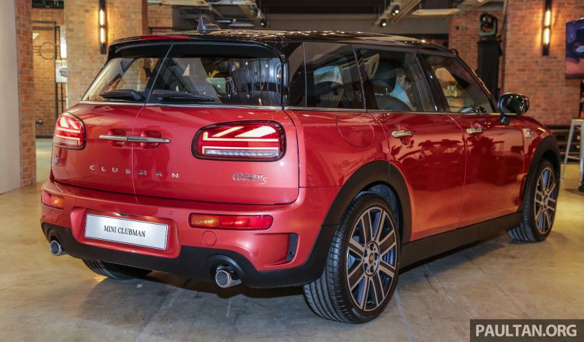F54 MINI Clubman facelift launched in Malaysia – Cooper S with 192 hp, 280 Nm; priced from RM299k Image #1042354