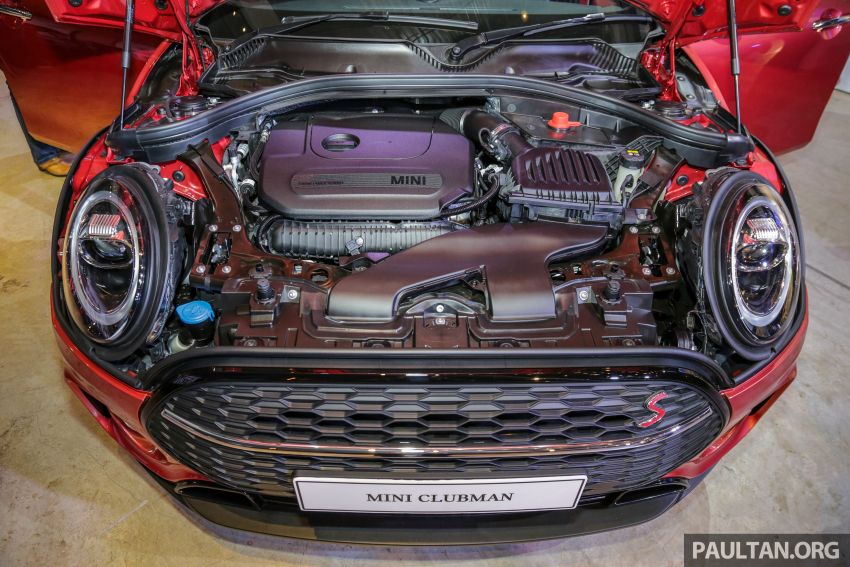 F54 MINI Clubman facelift launched in Malaysia – Cooper S with 192 hp, 280 Nm; priced from RM299k Image #1042467