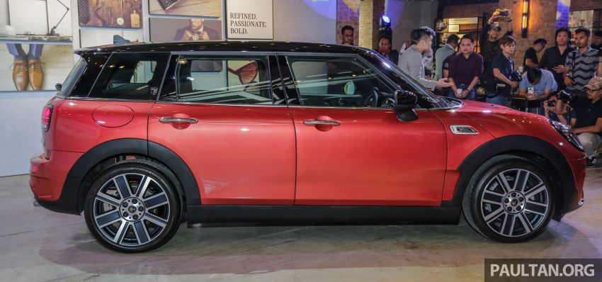 F54 MINI Clubman facelift launched in Malaysia – Cooper S with 192 hp, 280 Nm; priced from RM299k Image #1042356