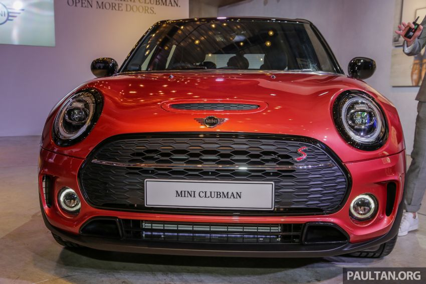 F54 MINI Clubman facelift launched in Malaysia – Cooper S with 192 hp, 280 Nm; priced from RM299k Image #1042360