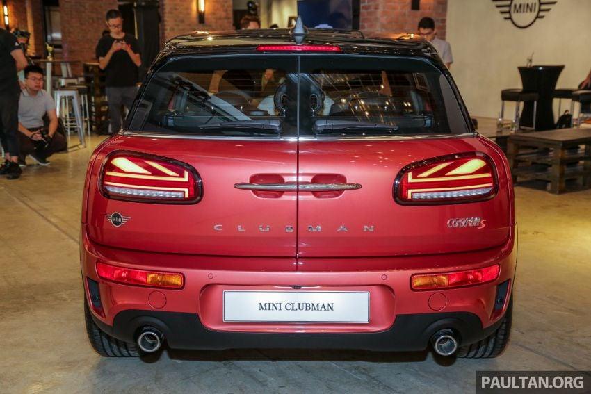 F54 MINI Clubman facelift debuts – Cooper S, RM299k Image #1042361
