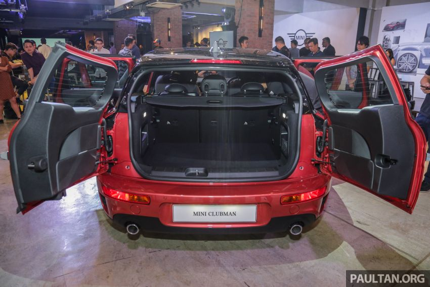 F54 MINI Clubman facelift launched in Malaysia – Cooper S with 192 hp, 280 Nm; priced from RM299k Image #1042564