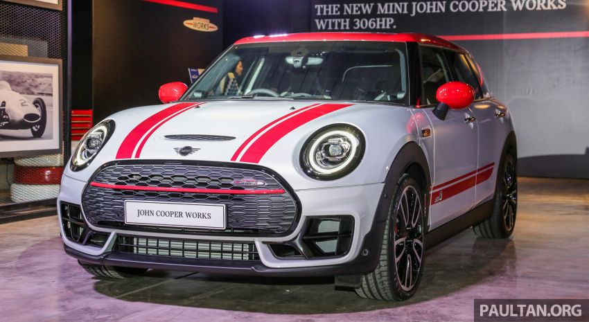 MINI John Cooper Works Clubman and Countryman launched in Malaysia – 306 PS; RM359k and RM379k Image #1043134
