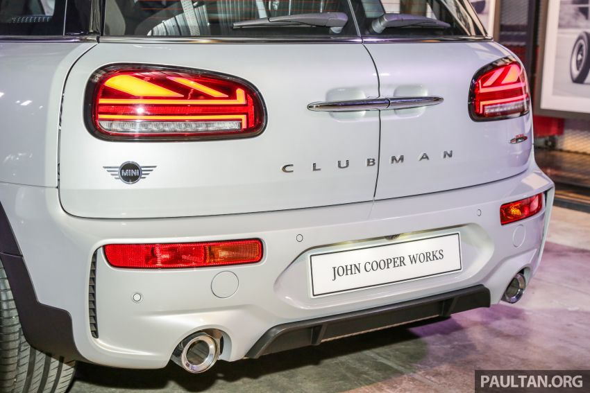 MINI John Cooper Works Clubman and Countryman launched in Malaysia – 306 PS; RM359k and RM379k Image #1043147