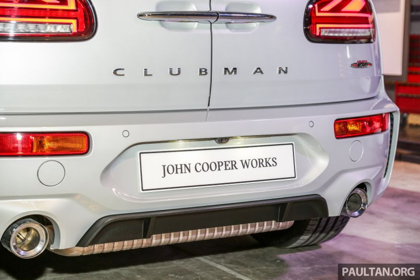 MINI John Cooper Works Clubman and Countryman launched in Malaysia – 306 PS; RM359k and RM379k Image #1043152