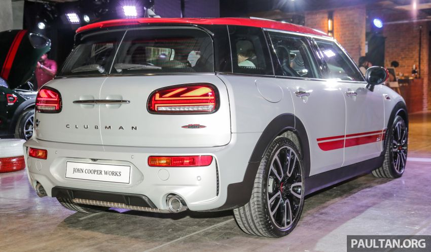 MINI John Cooper Works Clubman and Countryman launched in Malaysia – 306 PS; RM359k and RM379k Image #1043135