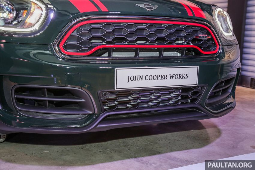 MINI John Cooper Works Clubman and Countryman launched in Malaysia – 306 PS; RM359k and RM379k Image #1043206