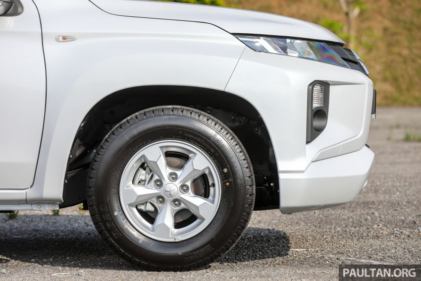 Mitsubishi Triton Quest facelift launched in Malaysia – low rider 4×2 workhorse gets Dynamic Shield, RM80k Image #1045825