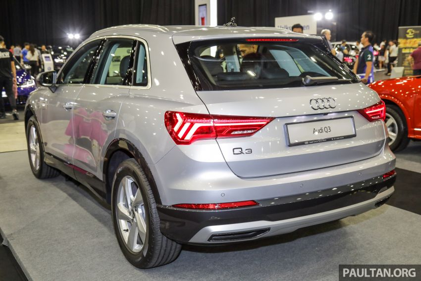 Audi Q3 2019 dipamerkan di PACE 2019 – 1.4 TFSI S tronic, 147 hp/250 Nm, harga dari RM270k Image #1038932