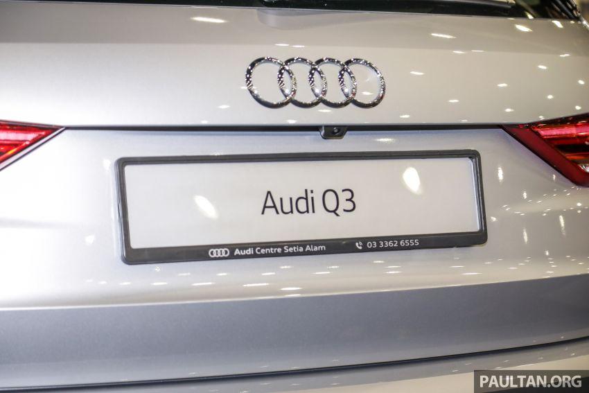 Audi Q3 2019 dipamerkan di PACE 2019 – 1.4 TFSI S tronic, 147 hp/250 Nm, harga dari RM270k Image #1038951
