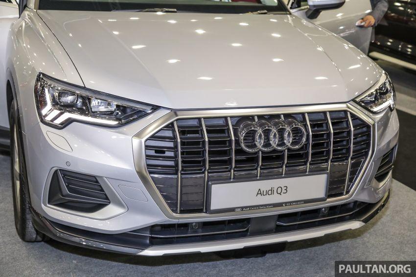 Audi Q3 2019 dipamerkan di PACE 2019 – 1.4 TFSI S tronic, 147 hp/250 Nm, harga dari RM270k Image #1038935
